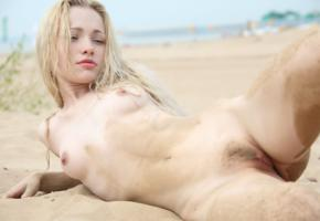 blonde, trimed, pussy, tits, olya, holli paige, beach, tots, haired pussy, dirty, olya n