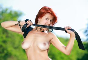 dina p, violla a, myza, sexy girl, adult model, redhead, nude, boobs, tits