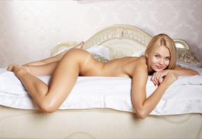 talia, blonde, sexy girl, sweet, cute, ass, tanned, bed, talia cherry, talia blonde, blonde goddess