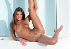 maria ryabushkina, maria, tara, melena, maria rya, auburn, naked, tits, nipples, shaved pussy, labia, ass, spread legs, tanned, tattoo, smile, ultra hi-q, sexy pose