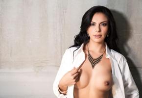 vanessa navarrete, brunette, sexy girl, shirt, boobs, tits, nipples