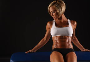 fittness, tanned, top, gym, fitness model, oiled, muscules, jamie eason