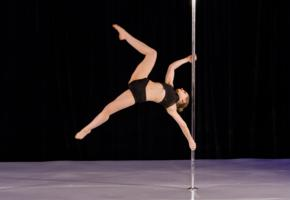 pole, dancer, horizontal, star, pose, pole dancer, sporty, legs, hi-q