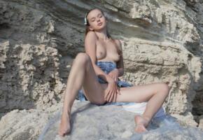 milena d, sexart, on the rocks, nude, fingering, milena angel, kate, milenna, sunna, legs, tits, rocks