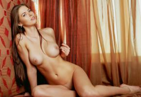 unknown, boobs, shaved, big tits, sexy, long hair