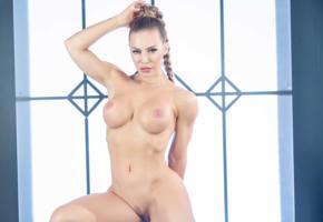 light, erotic, artistic, nicole aniston, pornstar, big boobs, perfect body, nude, fake boobs, milf, blue eyes, hips, trimmed