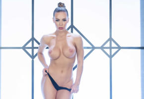 light, erotic, nicole aniston, pornstar, big boobs, perfect body, fake boobs, milf, blue eyes, hips, undressing, topless