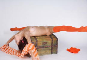 matilda, matilda bae, model, metart, gymnast, legs, spreading, stockings, smile, flexible, tits, skinny, small tits, tip toes, spread legs, brunette, shaved