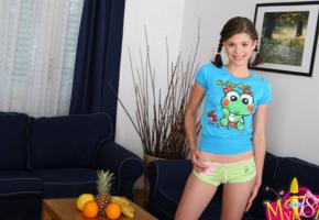 little caprice, model, smile, caprice, non nude, shorts, young, teen