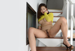 sejin, korea, makemodel, cute, pussy, boobs, tits, bathroom, spreading legs, haired pussy, stairs, culo, waxed