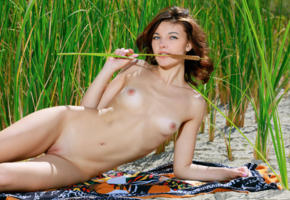 florina, sexy girl, adult model, nude, naked, alna, pussy, tits, nipples, outdoors, shaved pussy, small tits