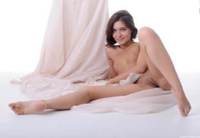 mari d, sabine, legs, pussy, labia, feet, shaved pussy, smile, spreading legs