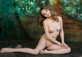 jeff milton, sexy, naked, pussy, shaved pussy, boobs, tits, smile, all natural, legs, hot, model, hi-q