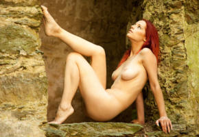 ariel, redhead, nude, naked, outdoor, sexy girl, adult model, ariel a, ariel n, ariel piper fawn, ariel piperfawn, ariela, arielle, gabriella e, gabrielle lupin, piper fawn