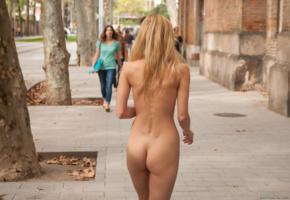 dominika j, coxy, coxy dominika, outdoors, nude, model, public, ass