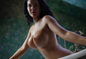 black hair, boobs, brunette, close up, enhanced boobs, knockers, kendra, big tits, oiled, nipples, kendra roll