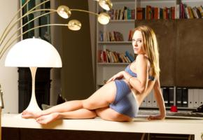 blue angel, dot, bikini, lingerie, panties, legs