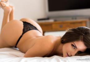 sexy, beatriz aguiar, cute, latina, bella club, hot ass, brunette, panties, black panties