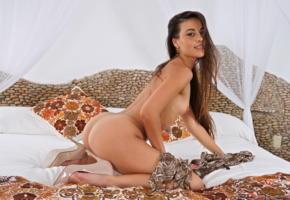 lorena g, brunette, smile, gorgeous, inthecrack, ass, bed, tits, lorena garcia, lorena graham, lorena morena, mimnousa