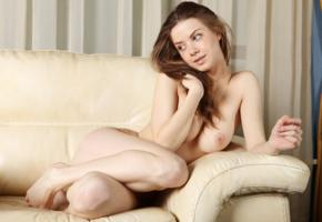 mocca, brunette, nude, naked, sexy girl, nipples, pussy, adult model