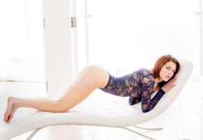 kiera winters, model, beautiful, blue bodysuit, legs