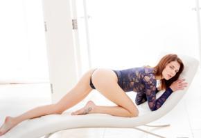 kiera winters, model, beautiful, leggy, sexy, blue bodysuit, glamorous, ass, legs, hot