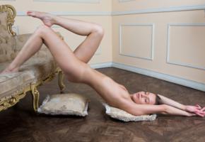 nikia, nikia a, sexy girl, adult model, beautiful female legs, legs, tits