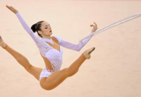 anna bessonova, sport, rhythmic gymnastics, perfect body, flexible, legs