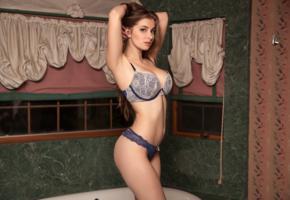 mary jane, sexy girl, adult model, lingerie, bra, panties