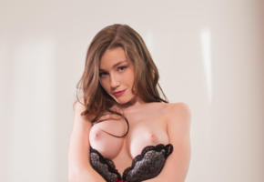 emily bloom, emily, tanya r, sexy girl, adult model, lingerie, bra, boobs, tits