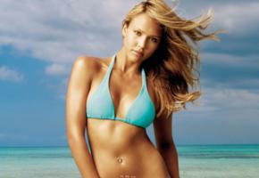 jessica alba, actress, bikini, beach