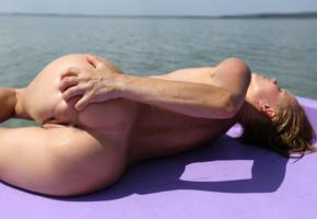 monica sweet, paddle boat, naked, labia, ass, tanned, hi-q, anus, wet