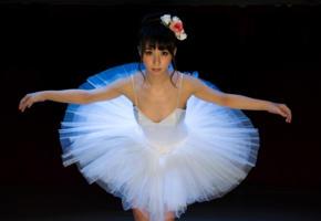 elley akira, yuka osawa, ballerina, isgraced, kinbaku model, tied, crotch rope, asian