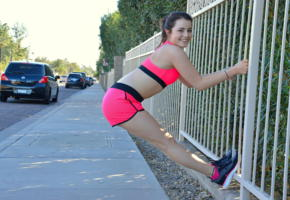 kylie quinn, ftvgirls, fun outdoor, brunette, smile, non nude, sport