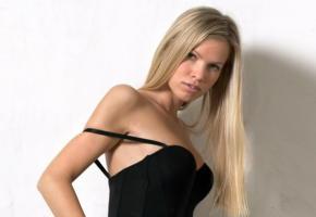 marketa belonoha, hegre art, blonde, lingerie