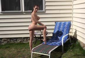 lana rhoades, alsangels, shaved, young, boobs, big tits, brunette, ass, legs, nude