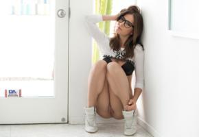 unknown, pussy, bra, squatting, labia, legs, sitting