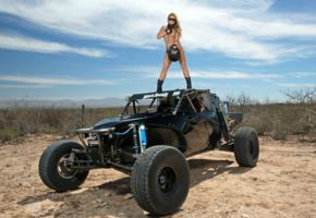 tahlia paris, blonde, dunebuggy, naked, big tits, handbra, helmet, boots, sunglasses, hi-q