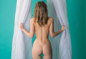nikia, nikia a, sexy girl, adult model, beauty, perfect ass, ass, back