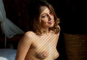 nikia, nikia a, sexy girl, adult model, beauty, tits, boobs, mipples, brunette