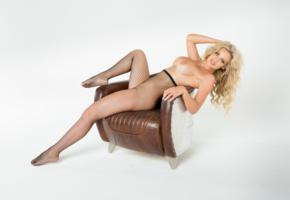 jessica nelson, blonde, sexy girl, hot girl, big tits, boobs, pantyhose, fishnet