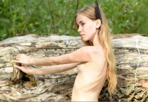 marika, marika b, sissi t, model, babe, teen, small tits, tits, nipples, outdoors, nature