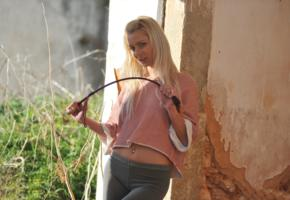 annely gerritsen, grace c, anneli, sexy girl, adult model, blonde, non nude, whip