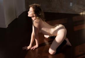dakota burd, sexy, girl, adult model, nude, brunette, ass, doggy