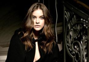 barbara palvin, top model, brunette, beautiful, sensual lips, face, hungarian, elle serbia, magyar