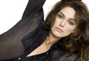 keira knightley, actress, brunette, beautiful, sensual lips, british, face, non nude