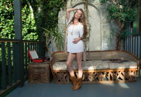 lauren lee, sexy girl, adult model, boots