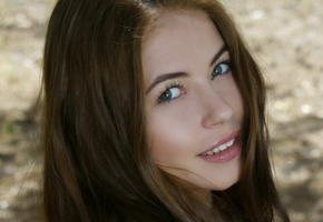 hilary c, aksana k, jane y, amy, georgeous brunette, show off, in nature