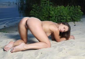 yarina, yarina a, yarina p, marketa, nikita y, noemi moon, sexy girl, adult model, tits, lake, nude, pussy, labia, beach, doggy