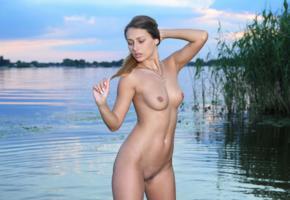 yarina, yarina a, yarina p, marketa, nikita y, noemi moon, sexy girl, adult model, boobs, tits, lake, nude
